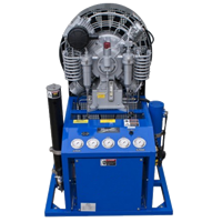 SA MCH22-36 VERTICAL HIGH PRESSURE AIR COMPRESSOR