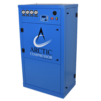 ENCLOSED AIR COMPRESSORS